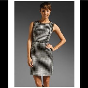 Trina Turk Houndstooth Dress